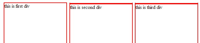 Div in html document - Div display inline ...